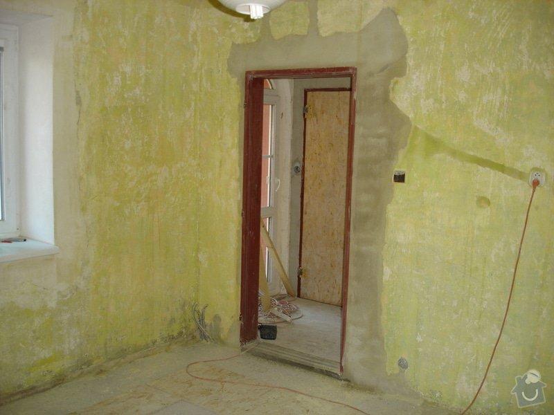 Sádrokartony , omítky , obklady , dlažby , plovoucí podlahy: DSC00063