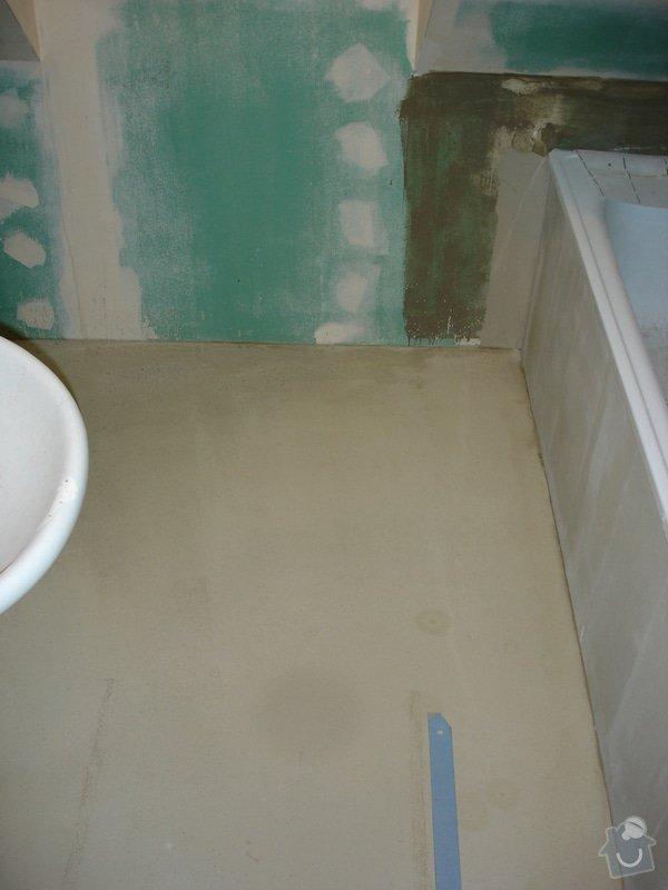 Sádrokartony , omítky , obklady , dlažby , plovoucí podlahy: DSC00587