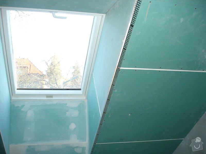 Sádrokartony , omítky , obklady , dlažby , plovoucí podlahy: DSC09758