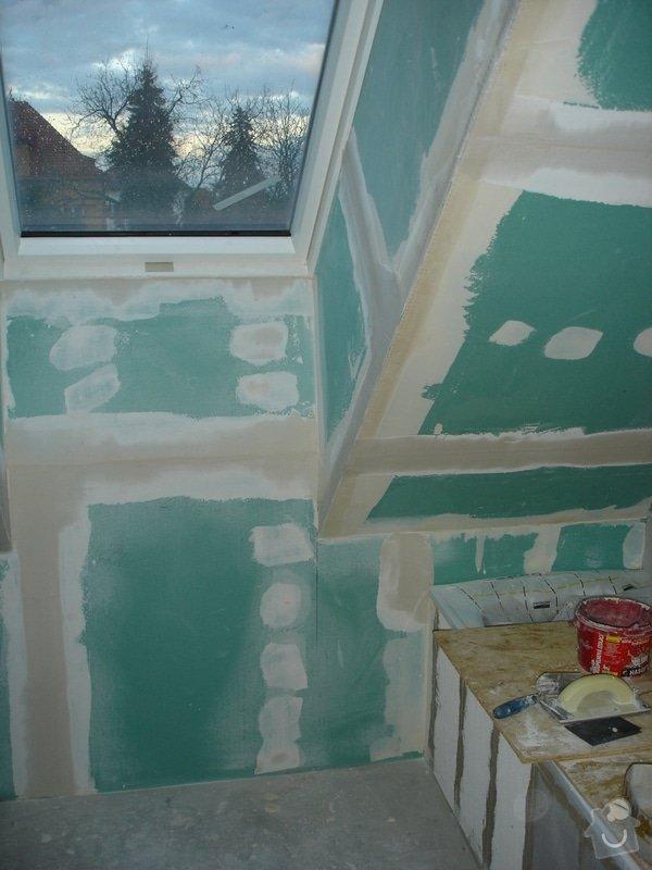 Sádrokartony , omítky , obklady , dlažby , plovoucí podlahy: DSC09765