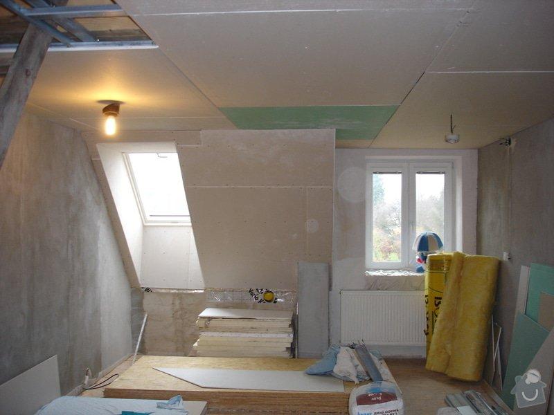 Sádrokartony , omítky , obklady , dlažby , plovoucí podlahy: DSC09745