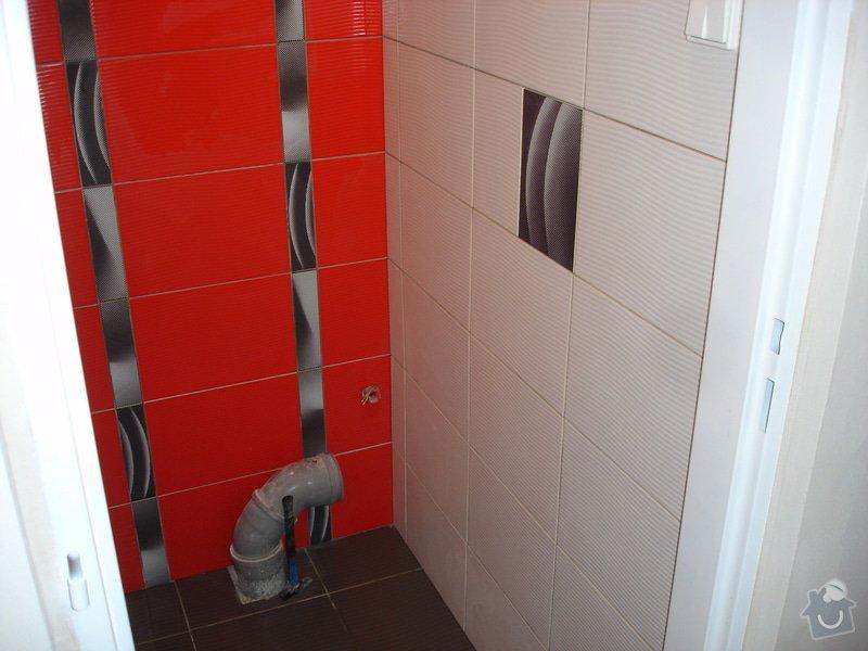 Sádrokartony , omítky , obklady , dlažby , plovoucí podlahy: DSC00600