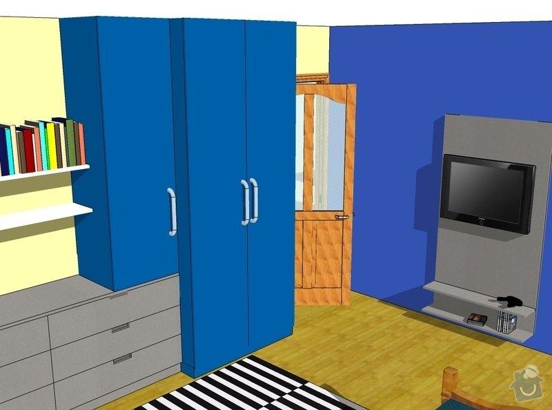 Pokojíček pro syna: navrh11