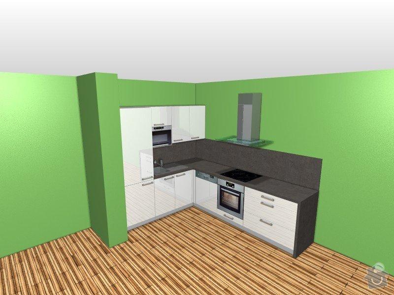 Příprava kuchyně na montáž nové linky : Sindler