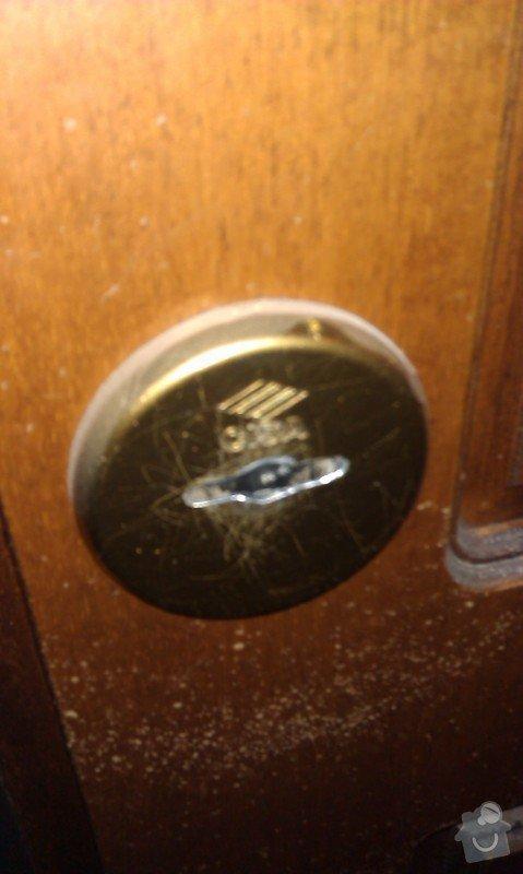 Výměna bezpečnostní vložky ve dveřích: IMAG0459