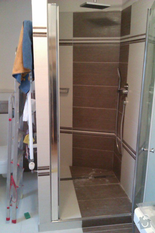 Instalace dveří do sprchového koutu: IMAG0606