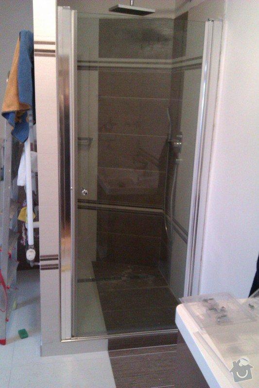 Instalace dveří do sprchového koutu: IMAG0607