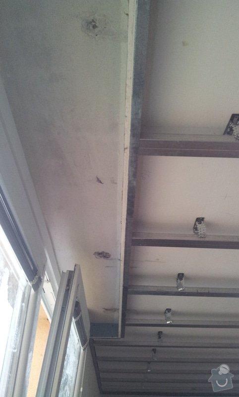 Sádrokartonový podhled pokoj 24m: 20121128_123849