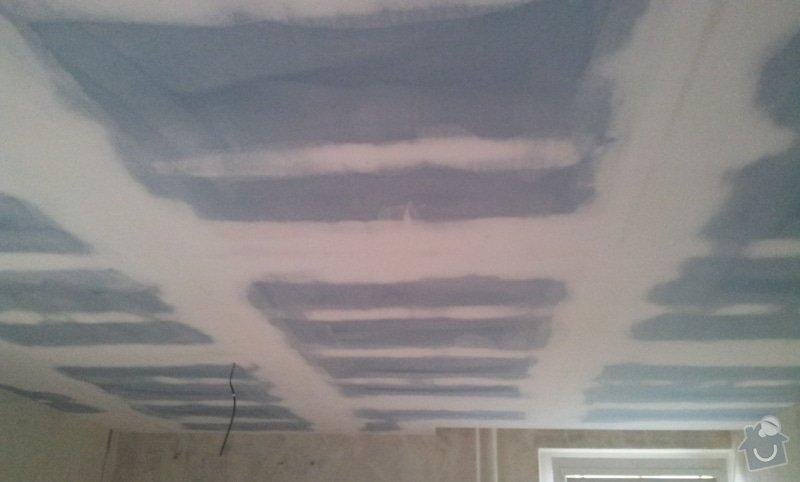 Sádrokartonový podhled pokoj 24m: 20121129_111946