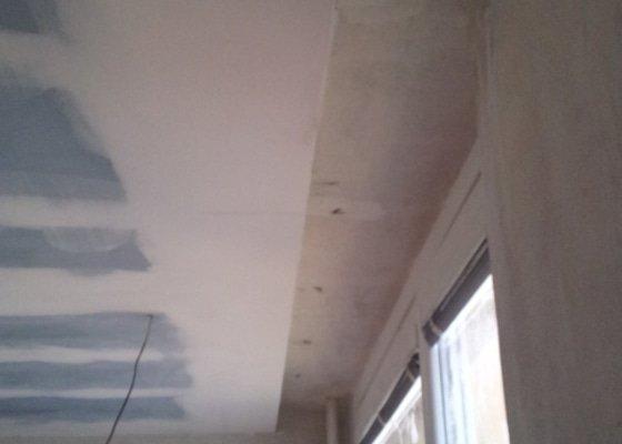 Sádrokartonový podhled pokoj 24m