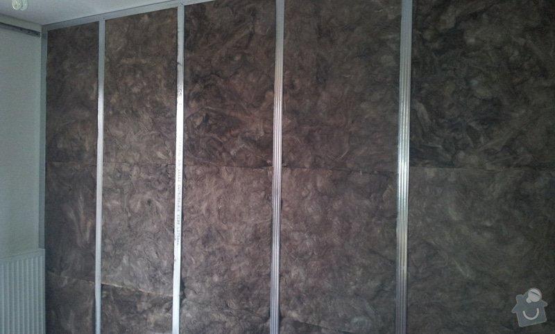 Odhlučnění ložnice -stěny i strop: 20121203_130825