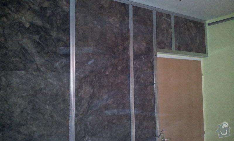Odhlučnění ložnice -stěny i strop: 20121203_134217