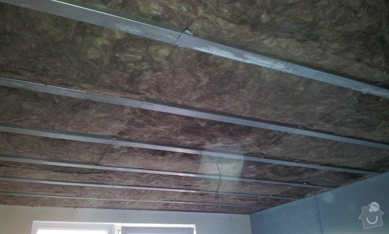 Odhlučnění ložnice -stěny i strop: 20121203_151525