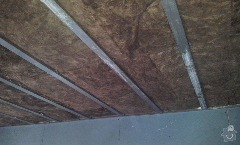 Odhlučnění ložnice -stěny i strop: 20121203_151533