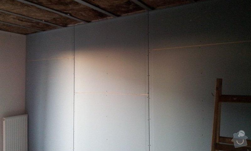 Odhlučnění ložnice -stěny i strop: 20121203_151544