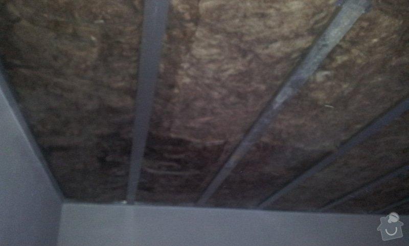 Odhlučnění ložnice -stěny i strop: 20121203_155327