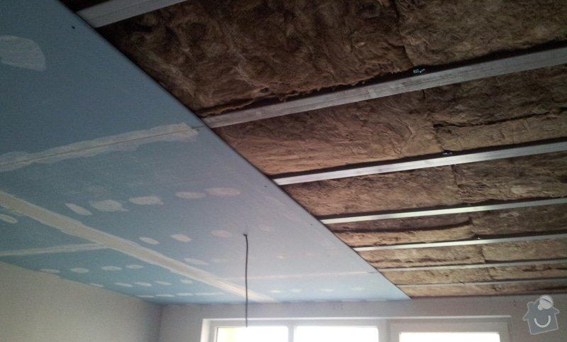 Odhlučnění ložnice -stěny i strop: 20121204_103025