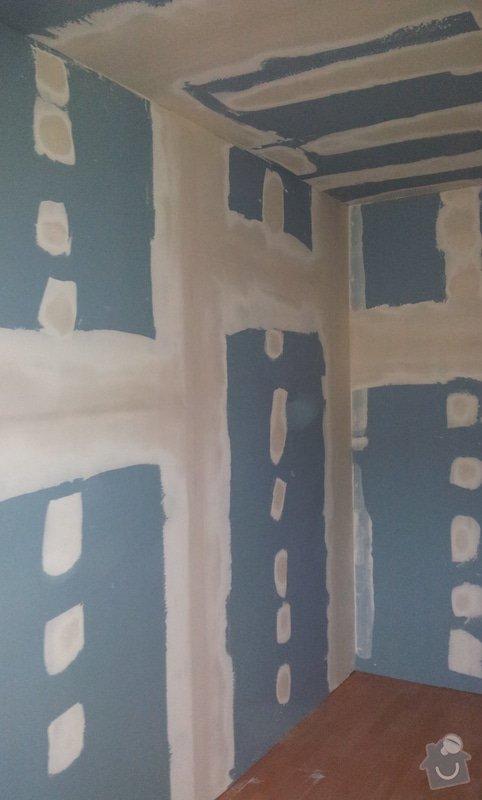 Odhlučnění ložnice -stěny i strop: 20121204_140545