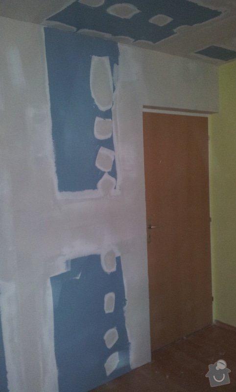 Odhlučnění ložnice -stěny i strop: 20121204_140602
