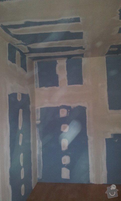 Odhlučnění ložnice -stěny i strop: 20121204_140620