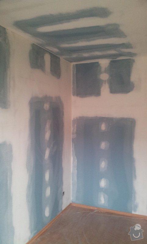 Odhlučnění ložnice -stěny i strop: 20121205_123505