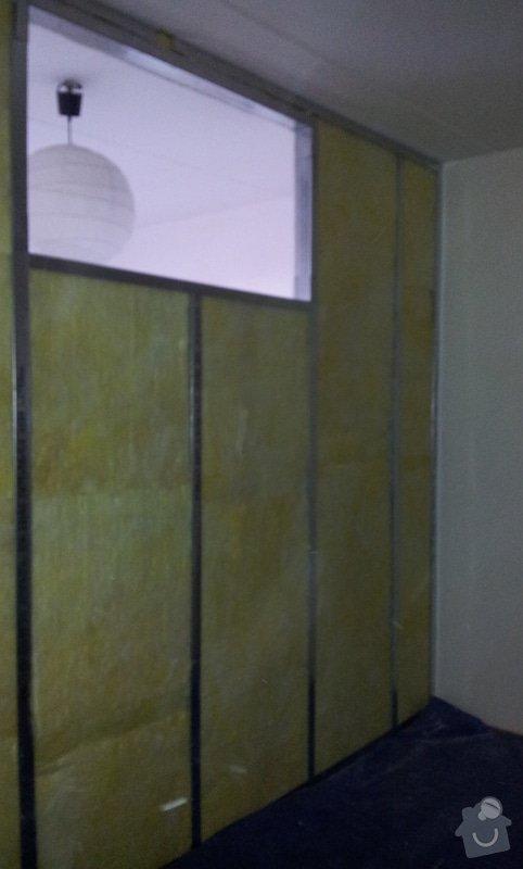 Přepažení místnosti: 20121206_113939