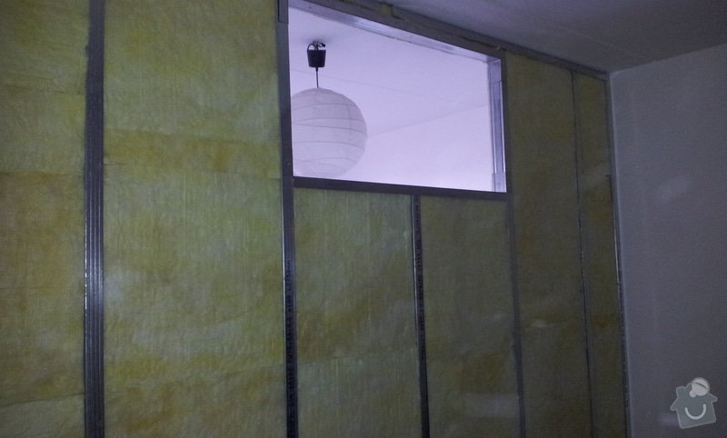 Přepažení místnosti: 20121206_113952