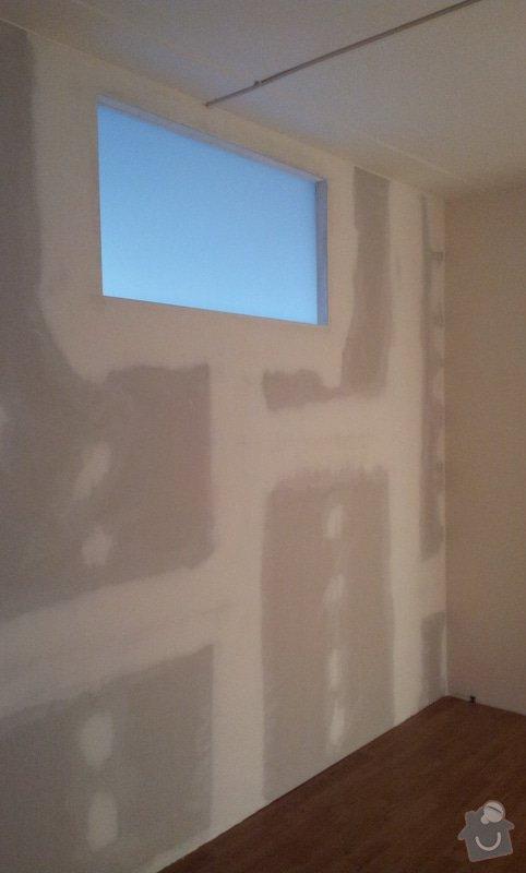 Přepažení místnosti: 20121207_131146