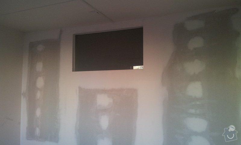 Přepažení místnosti: 20121207_141440