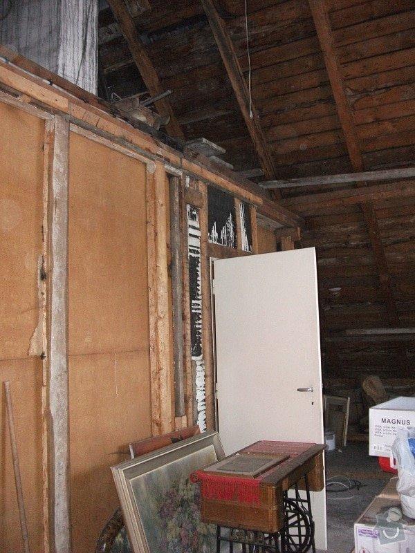 vyhotovení projektu a rekonstrukce podkroví,: DSCF1587