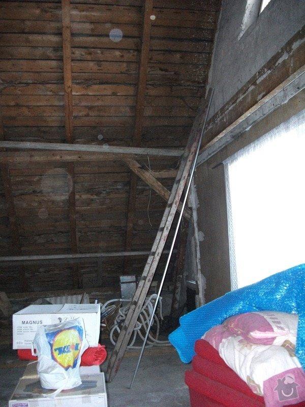 vyhotovení projektu a rekonstrukce podkroví,: puda1