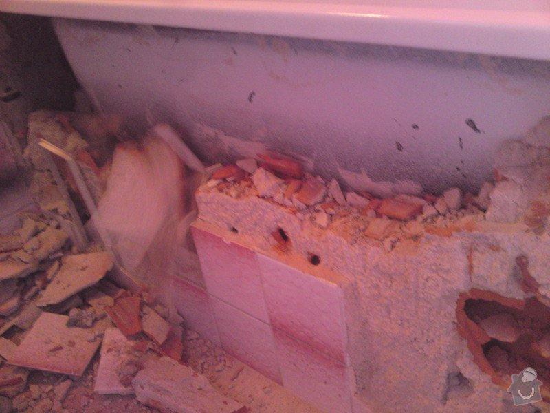 Rekonstrukce koupelny, Slaný: SE_905_i_-_4.12.2012_062