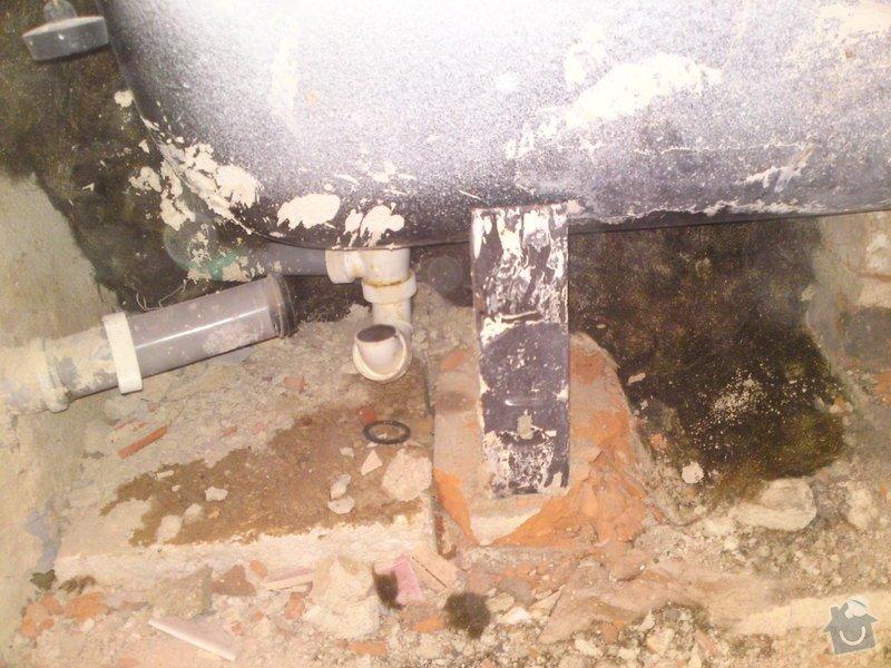 Rekonstrukce koupelny, Slaný: SE_905_i_-_4.12.2012_066