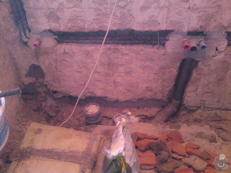 Rekonstrukce koupelny, Slaný: SE_905_054