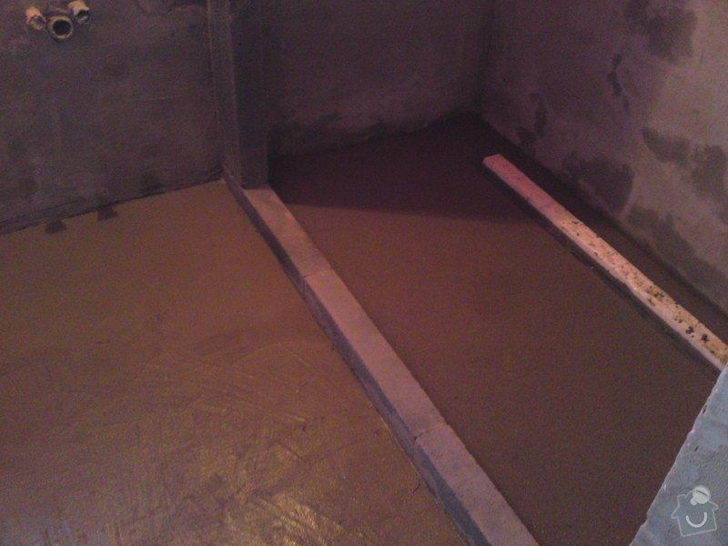 Rekonstrukce koupelny, Slaný: SE_905_015