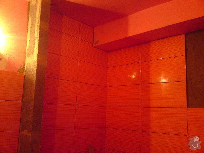Rekonstrukce koupelny, Slaný: DSC05167