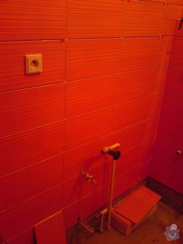 Rekonstrukce koupelny, Slaný: DSC05169