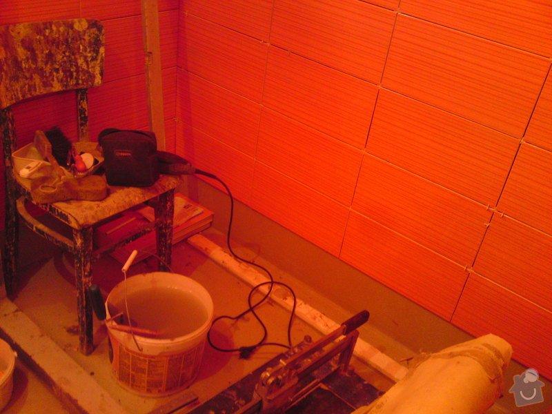 Rekonstrukce koupelny, Slaný: DSC05170