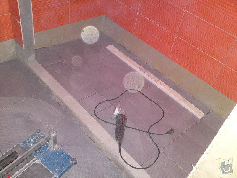 Rekonstrukce koupelny, Slaný: DSC05172