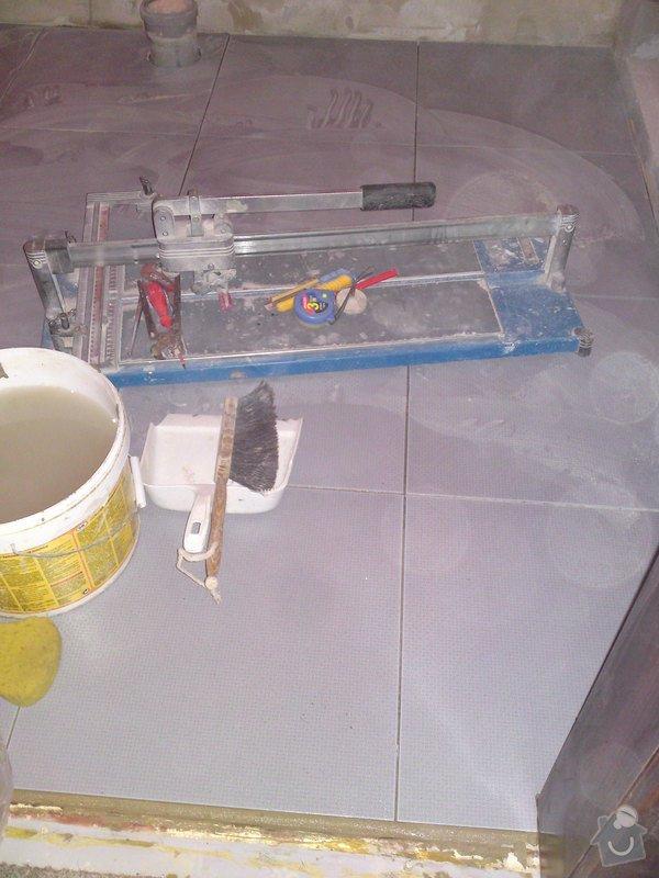 Rekonstrukce koupelny, Slaný: DSC05174