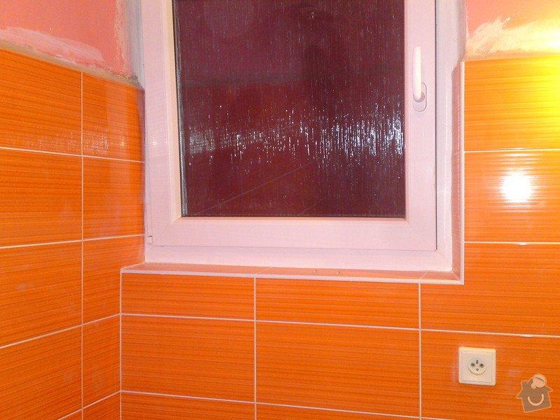 Rekonstrukce koupelny, Slaný: DSC05189