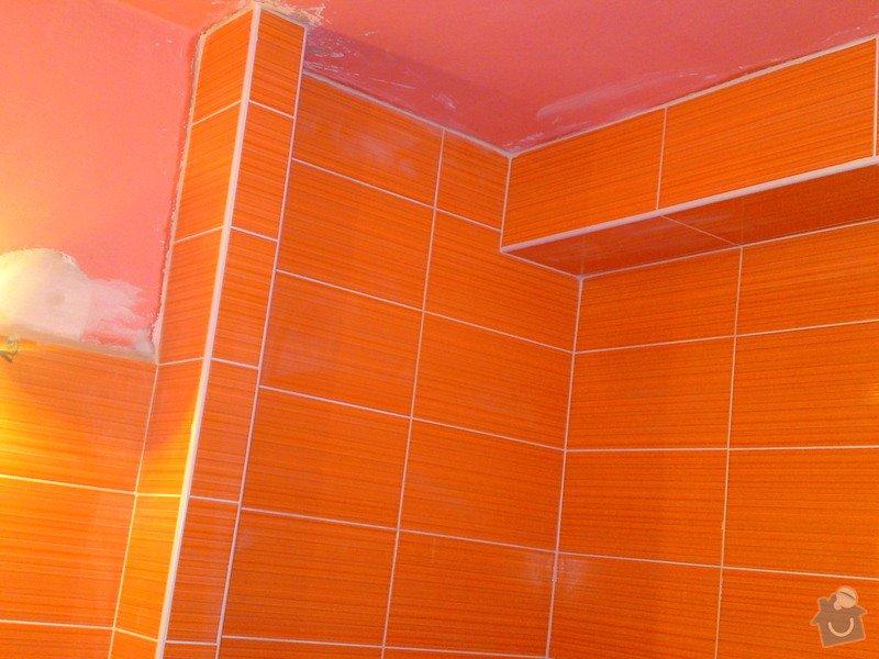 Rekonstrukce koupelny, Slaný: DSC05188