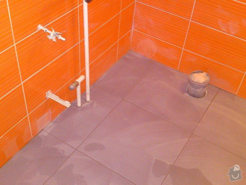Rekonstrukce koupelny, Slaný: DSC05190