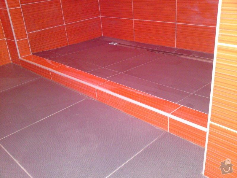 Rekonstrukce koupelny, Slaný: DSC05194