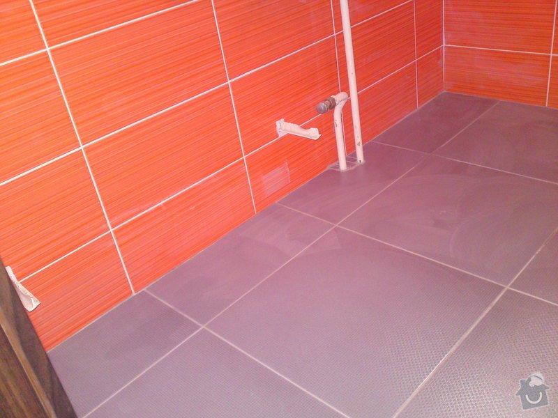 Rekonstrukce koupelny, Slaný: DSC05196