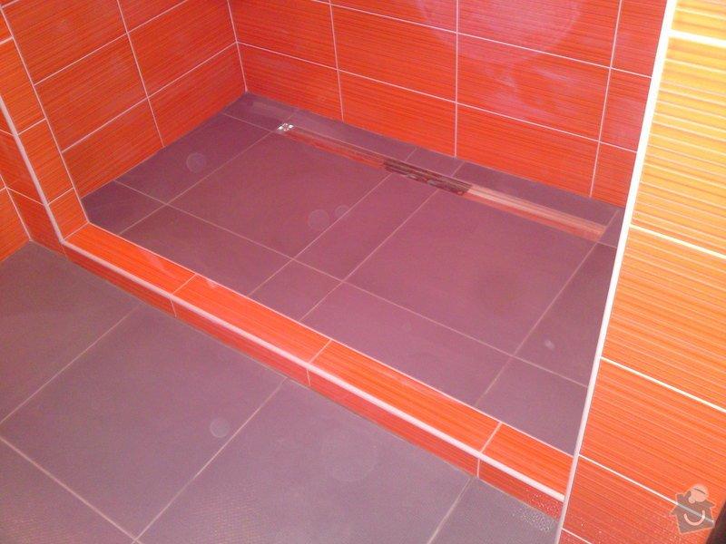 Rekonstrukce koupelny, Slaný: DSC05201