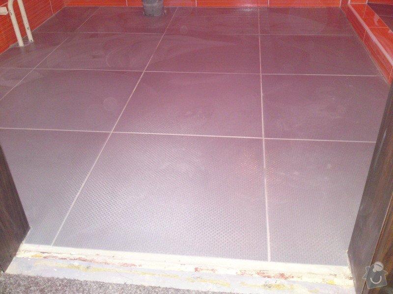 Rekonstrukce koupelny, Slaný: DSC05203