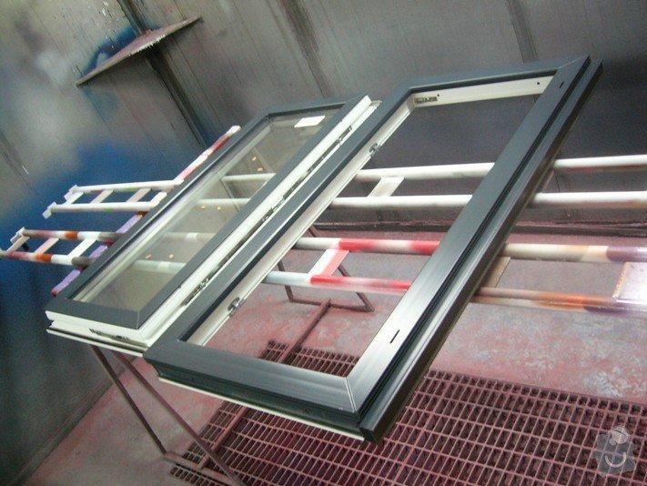 Lakování plastového okna: P1030770