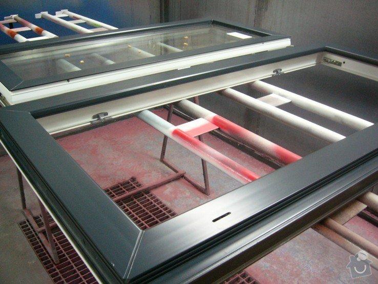 Lakování plastového okna: P1030773