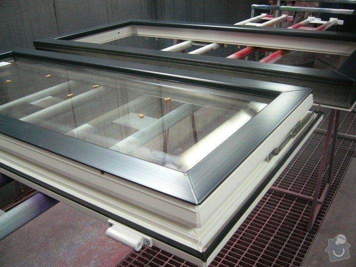 Lakování plastového okna: P1030774